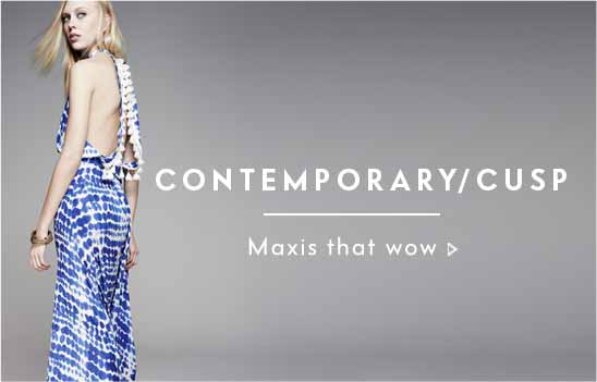 Contemporary Cusp Maxi Dresses