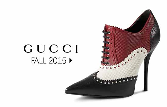 GUCCI: Fall 2015