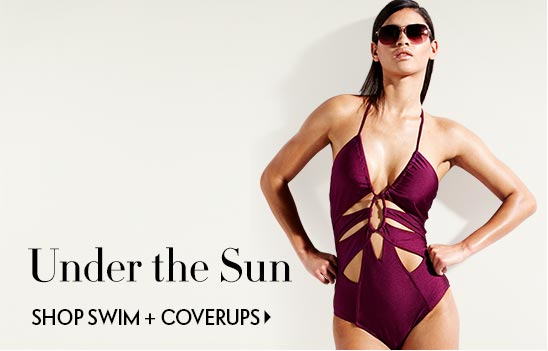 Summer perfect! Shop swim and coverups
