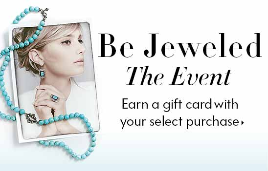 Bejeweled Event earn a Gift Card with purchase