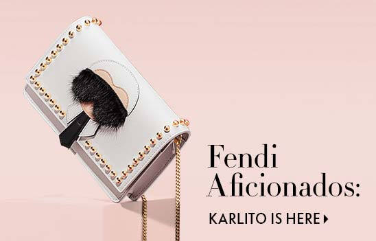 Shop Fendi Handbags featuring Carlito