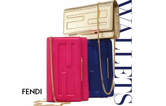Fendi Handbags: Wallet on Chain