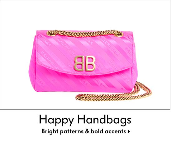 Happy Handbags - Bright patterns & bold accents