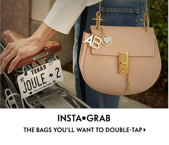 Insta grab The bags you???ll want to double-tap