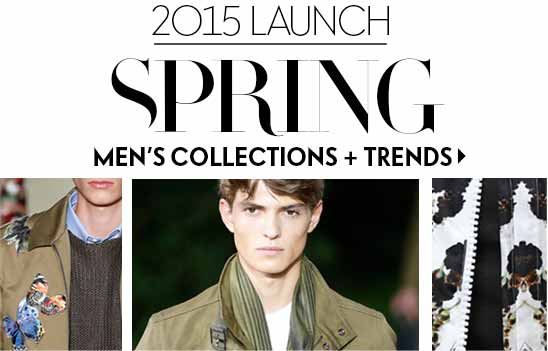 Men's Spring Launch 2015