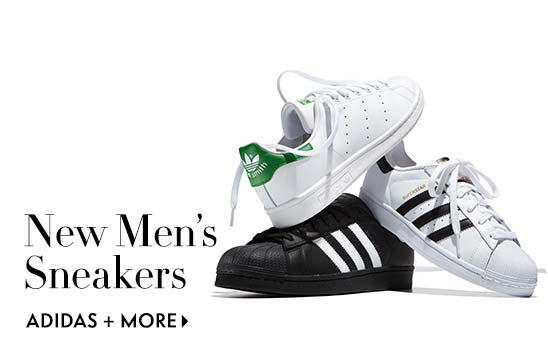 New men's sneakers Adidas and more