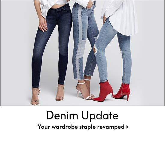 Denim Update - Your wardrobe staple revamped