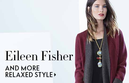 Eileen Fisher relaxed style