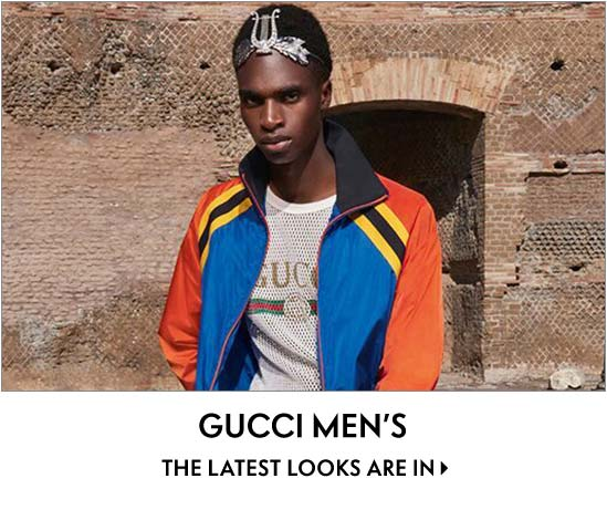 Gucci men's the latest looks are in