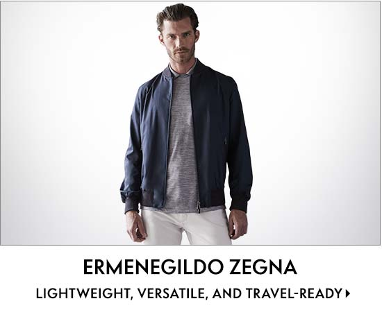 Ermenegildo Zegna lightweight, versatile, and travel-ready