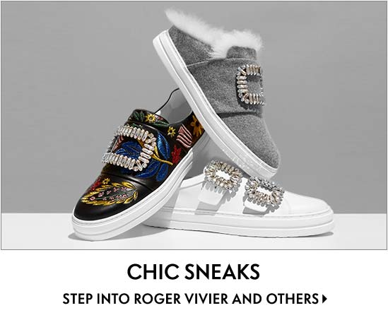 Chic Sneaks Step into Roger Vivier and others