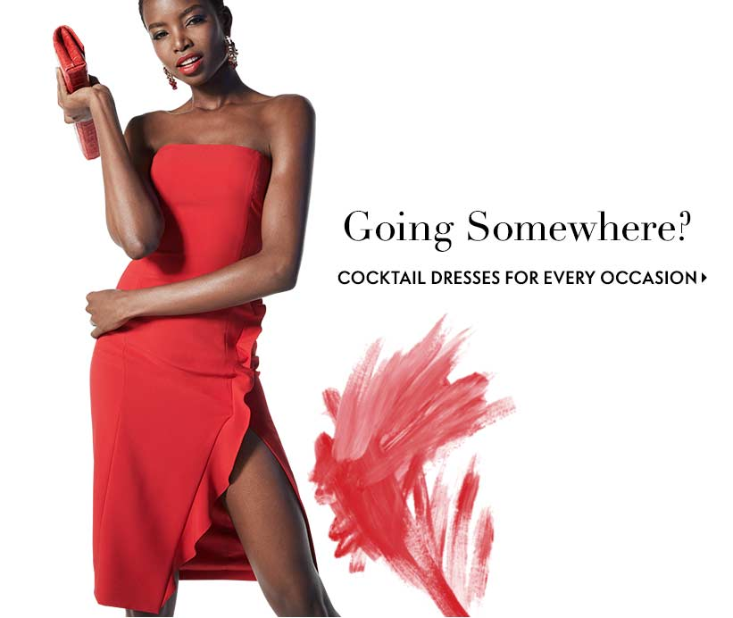 Going somewhere? Cocktail dresses for every occasion