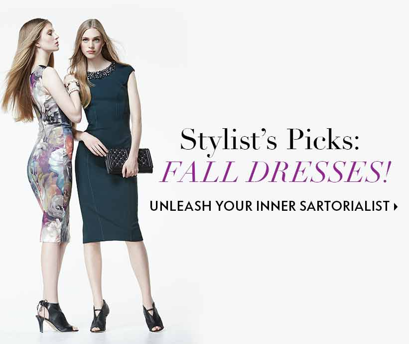 Stylist Picks for Fall Dresses
