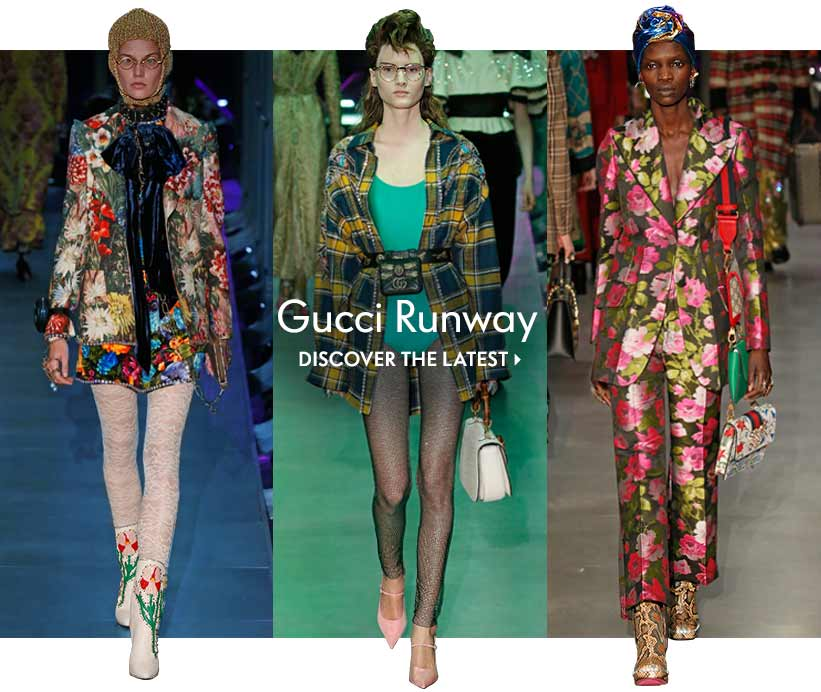 Gucci Runway Discover the latest