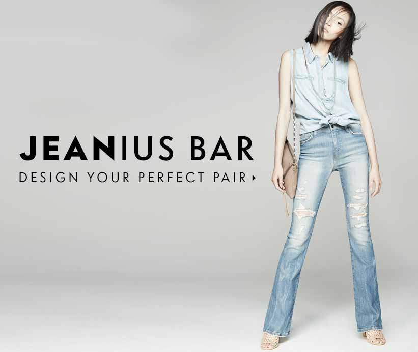Jeanius Bar: Find the perfect fit