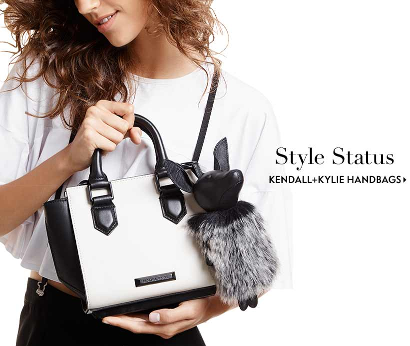 Style status kendal and kylie handbags