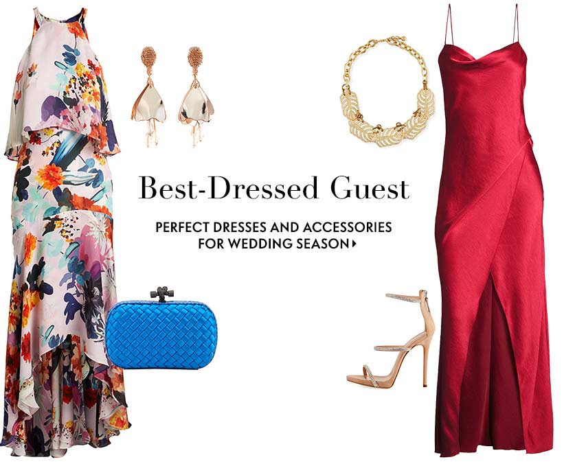 Best-dressed guest perfect dresses and accessories for wedding season