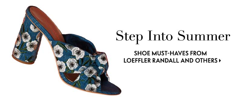 Step into summer shoe must-haves from Loeffler Randall and others