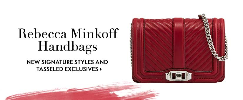 Rebecca Minkoff handbags new signature styles and tassled exclusives