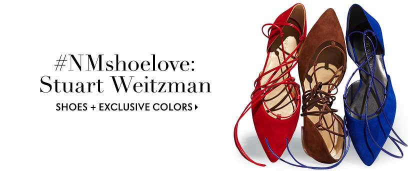 #NMshoelove: Stuart Weitzman shoes and exclusive colors