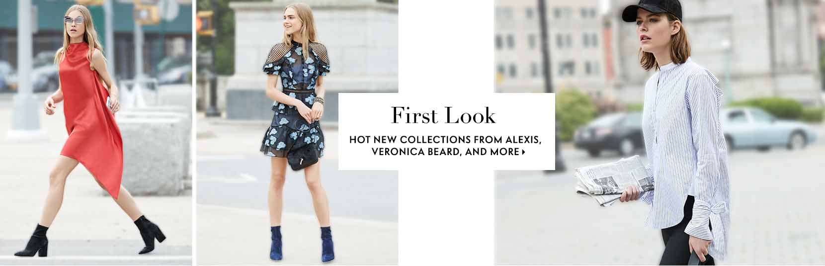 First Look Hot new collections from Alexis, Veronica Beard, and more