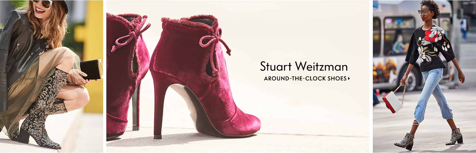 Stuart Weitzman Around-the-clock shoes