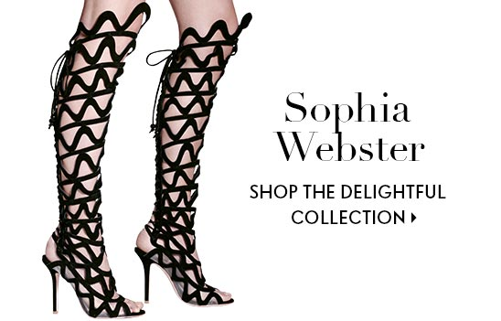 Sophia Webster shop the delightful collection