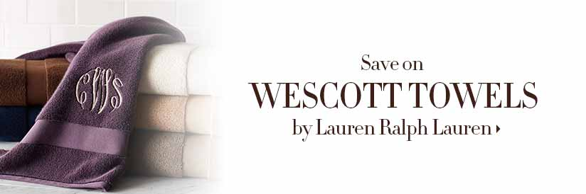 Save on Wescott Towels