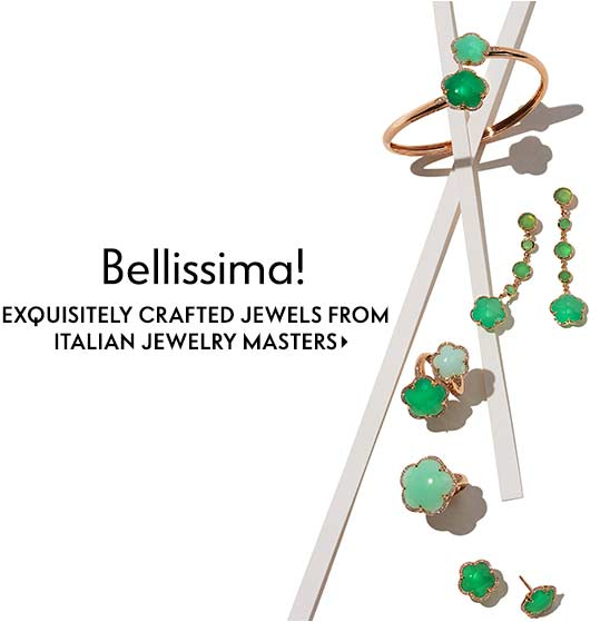 Bellissima! Exquisitely crafted jewels from Italian jewelry masters