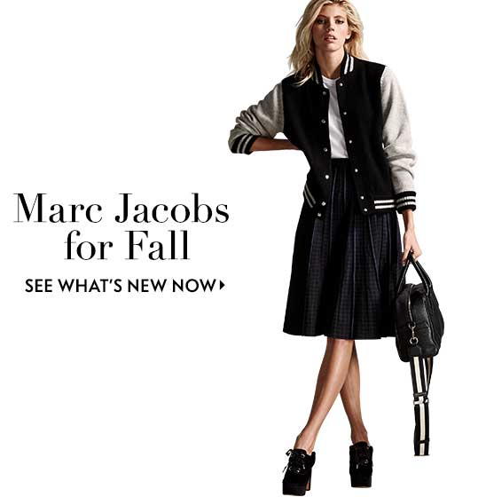 Marc Jacobs for Fall see what's new now