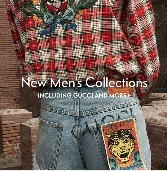 New Men???s Collections Including Gucci and more