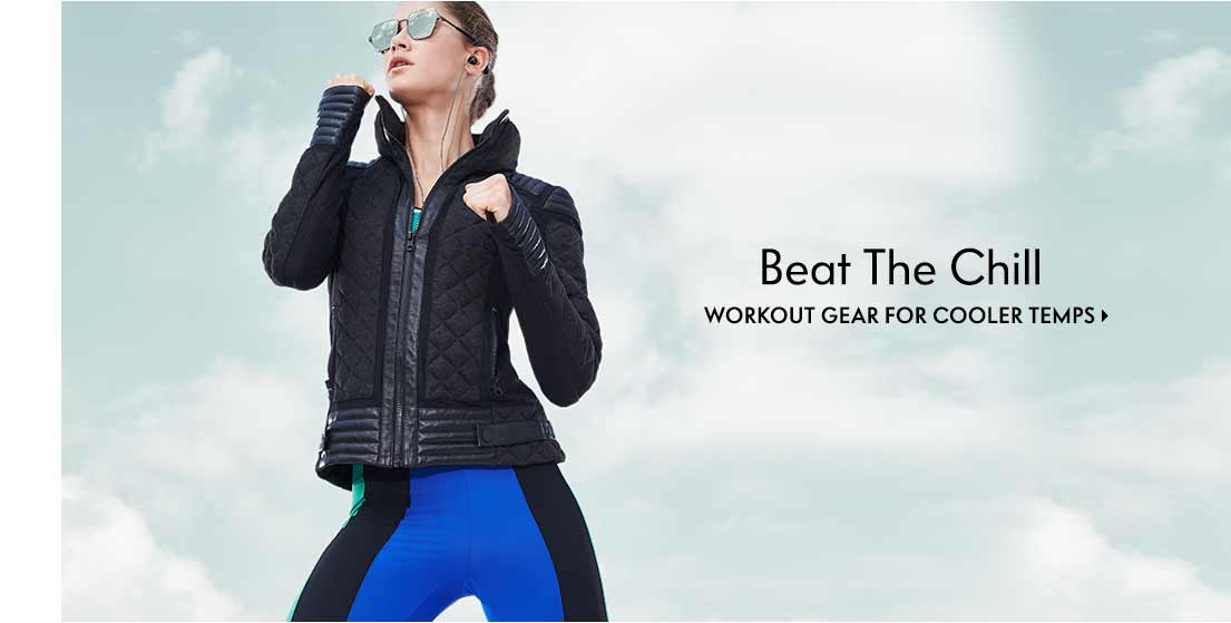 Beat The Chill Workout gear for cooler temps