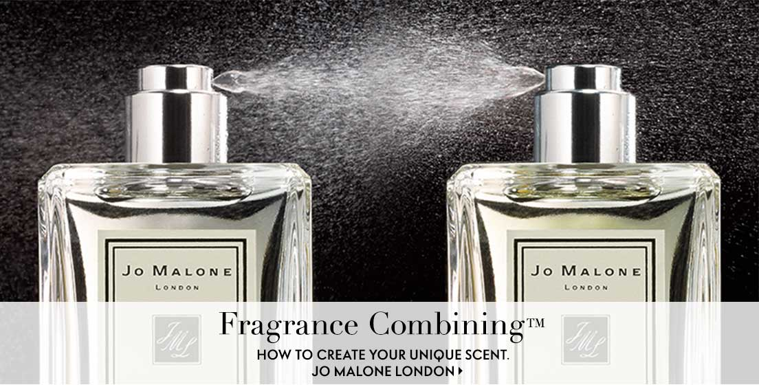 Fragrance combining how to create your unique scent. Jo Malone London