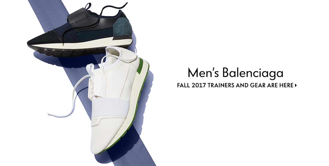 Men???s Balenciaga Fall 2017 trainers and gear are here