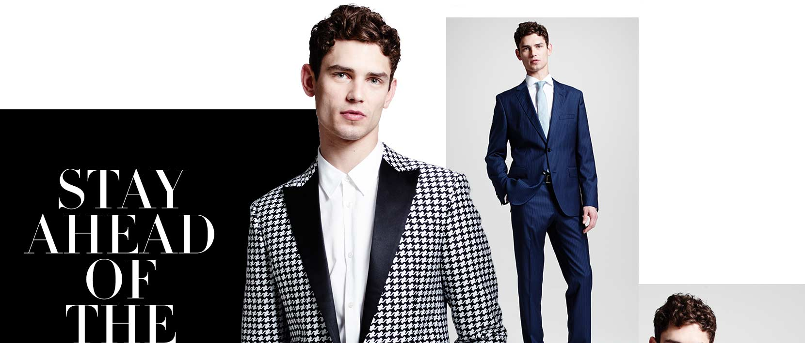 Stay ahead of the curve! The new men's prefall collections for work and weekends