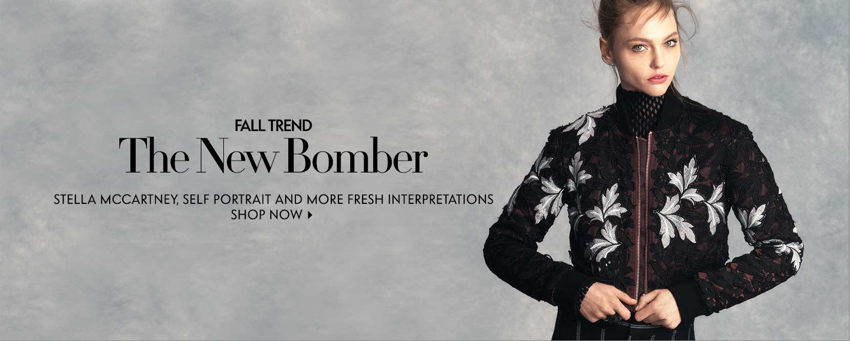 Fall trend New Bomber Stella Mccartney, Self Portrait and more fresh interpretations
