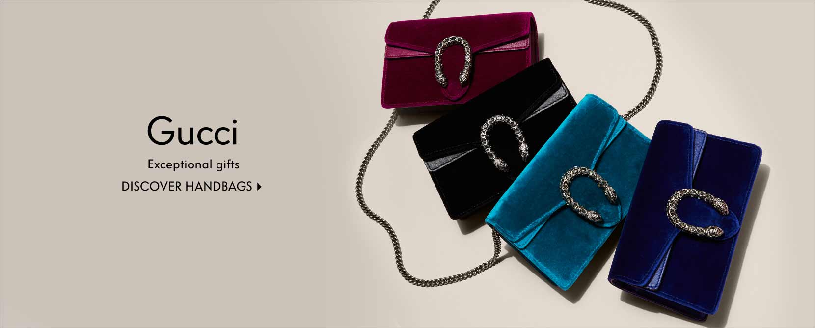 Gucci exceptional gifts