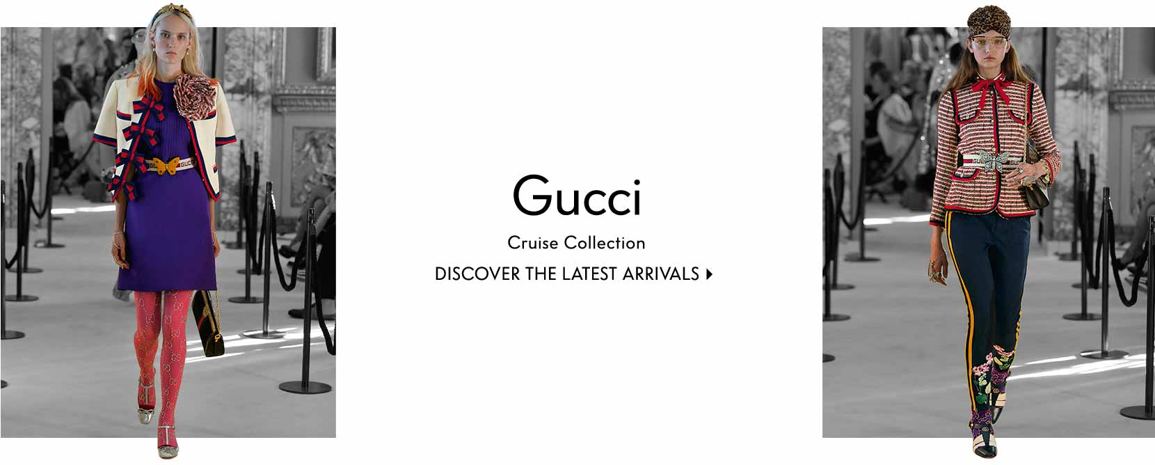 Gucci cruise collection discover the latest arrivals