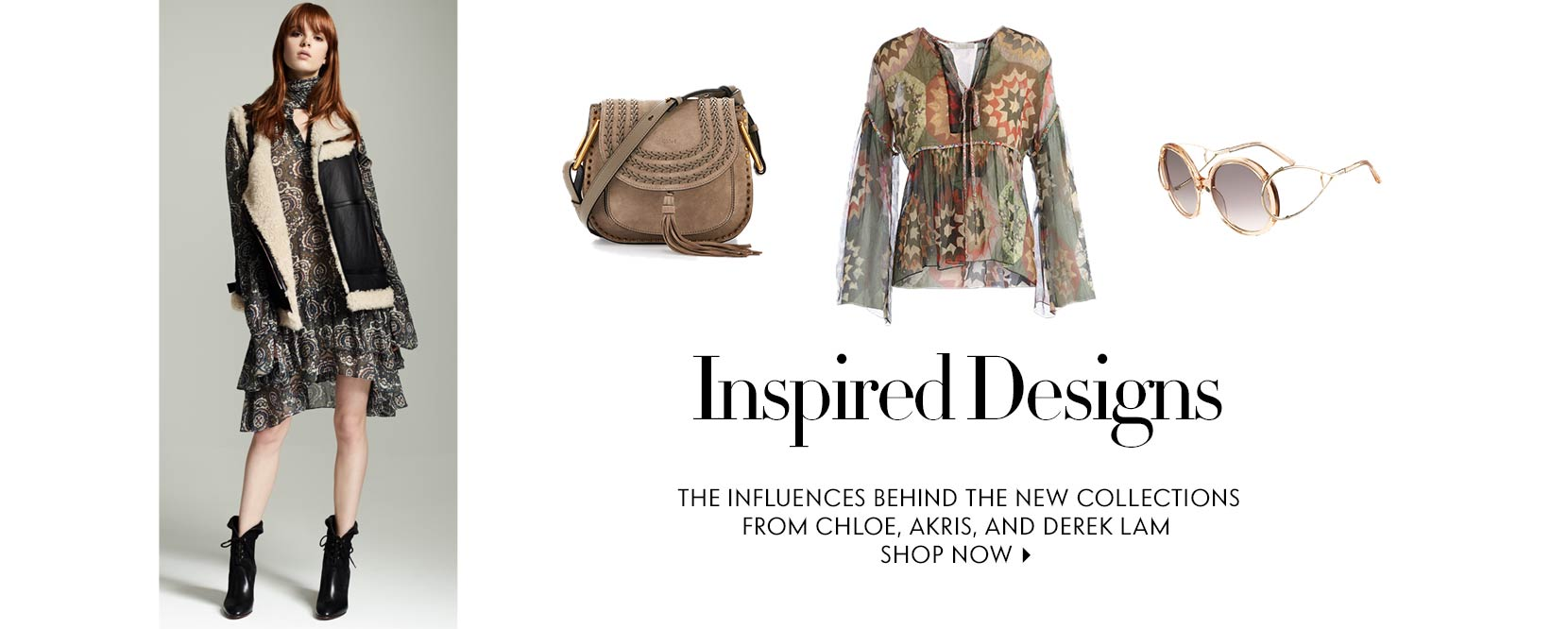 Inspired Designs. The influences behind the new collections from Chloe, Akris, and derek lam