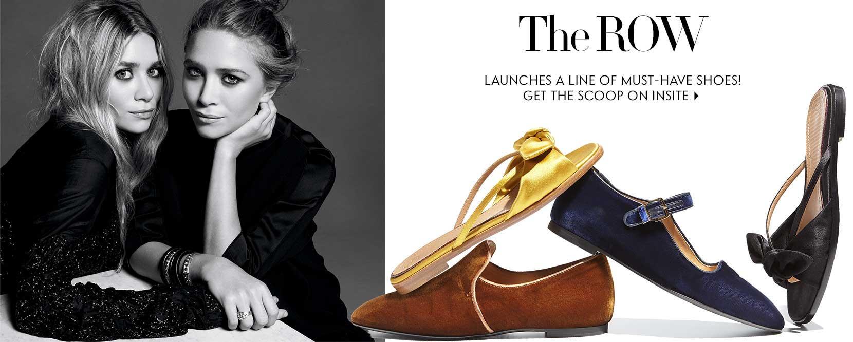 The Row launches a must have shoe collection!