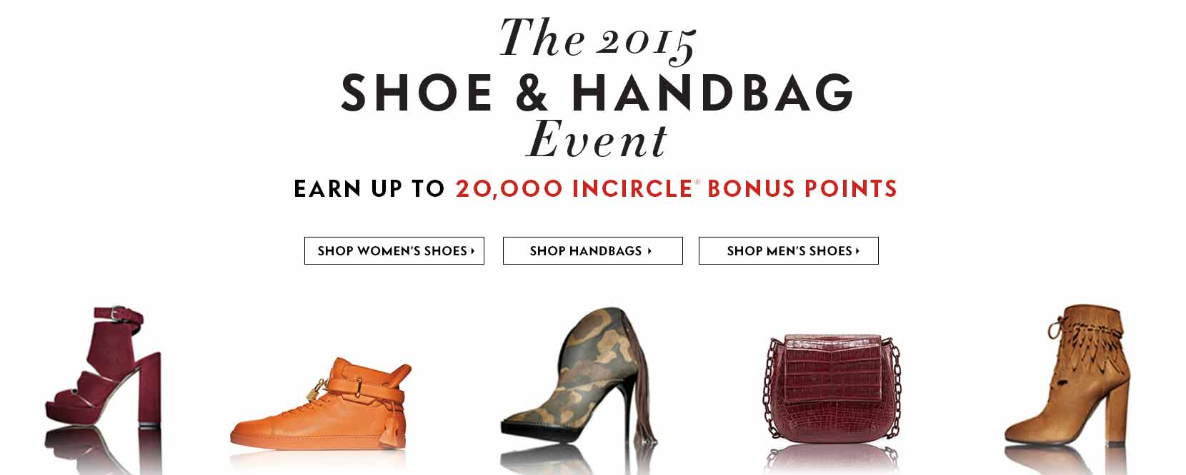 Shoe and Handbag Event