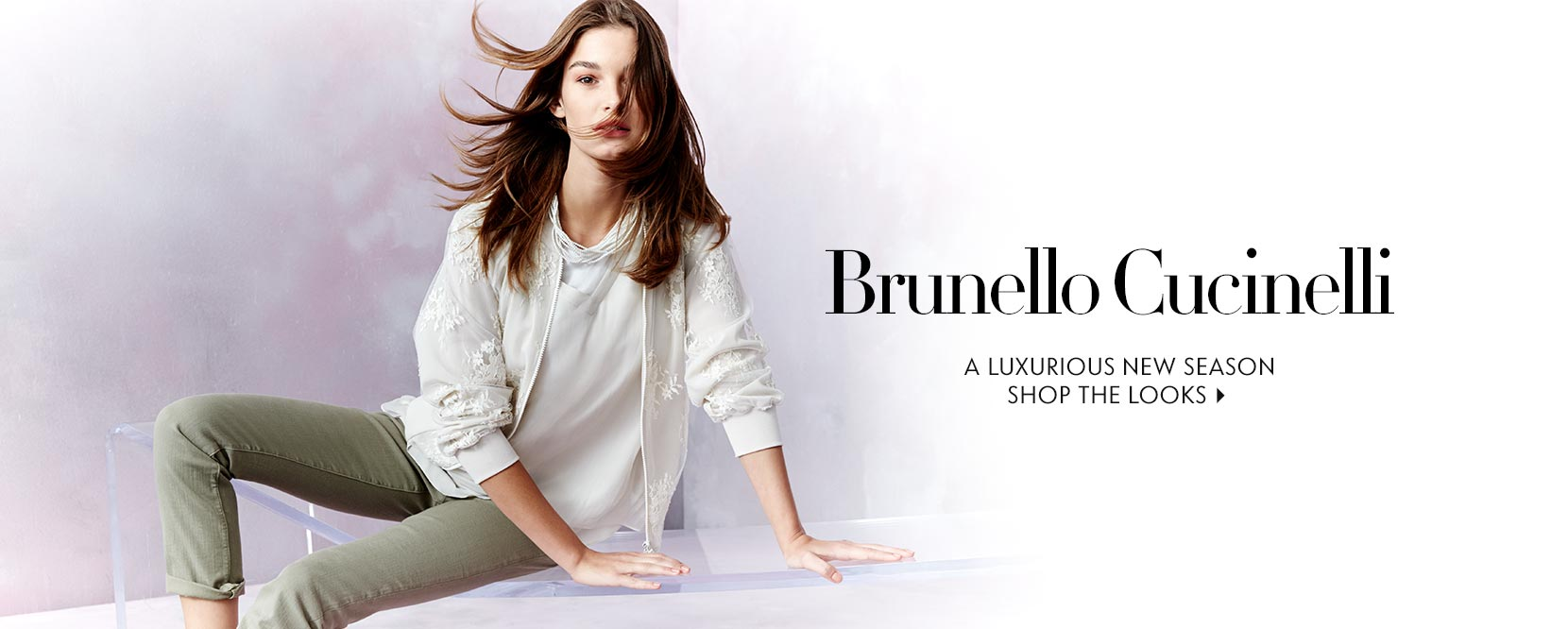 Shop the New Bunello Cucinelli Spring Collection