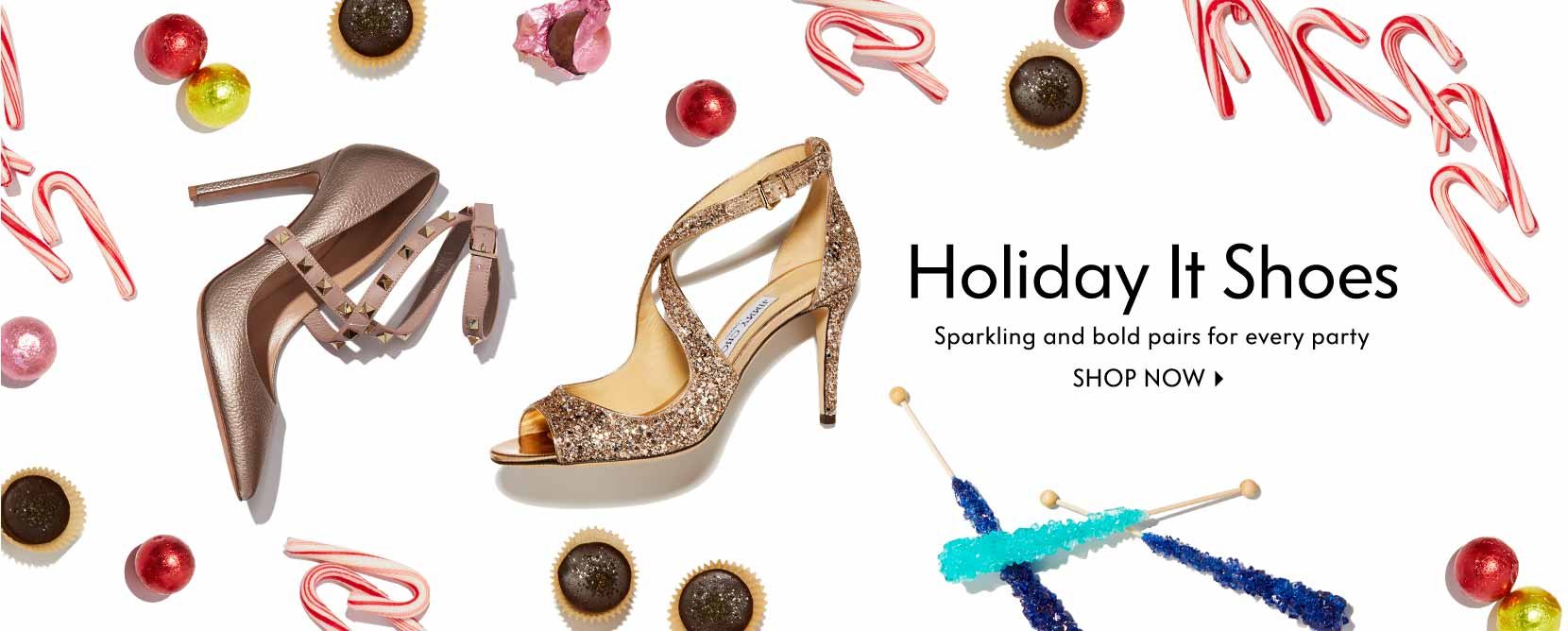 Holiday It Shoes Sparkling and bold pairs for every party