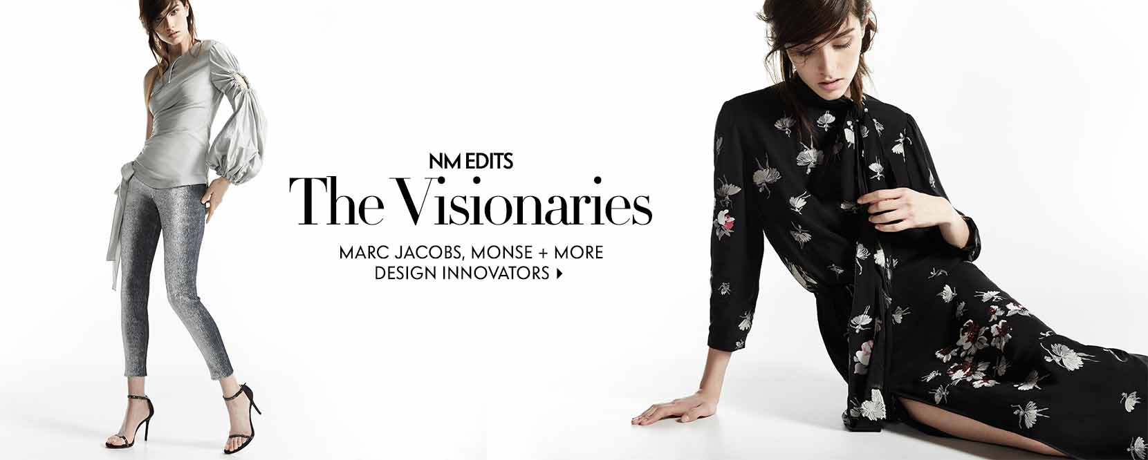NM EDITS The Visionaries Marc Jacobs, monse and more design innovators