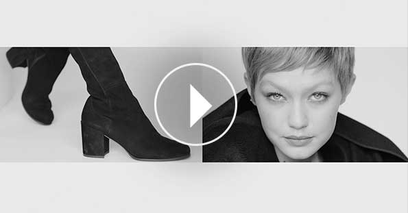 Behind the scenes with Gigi Hadid