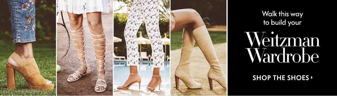 Stuart Weitzman Wardrobe - Shop the Shoes
