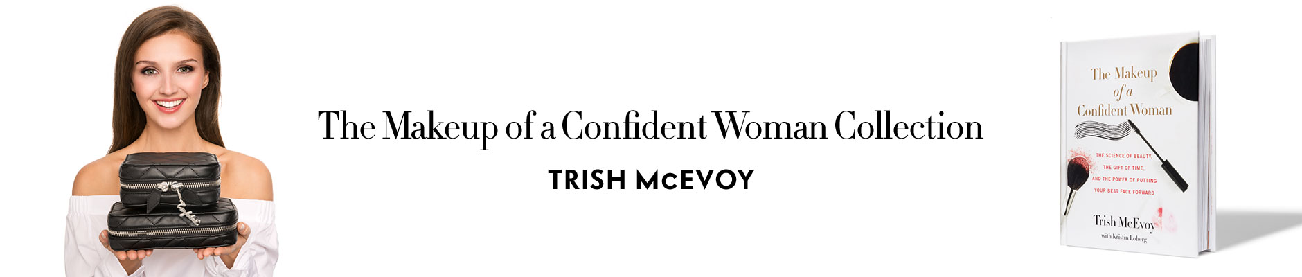 the makeup of a confident woman collection - Trish McEvoy