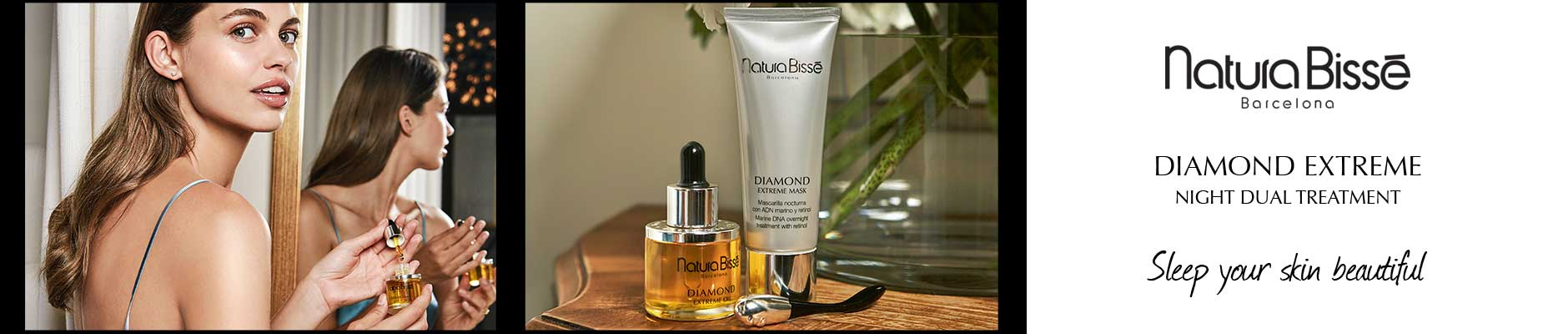 Natura Bisse Barcelona: Diamond Extreme Night Dual Treatment - Sleep your skin beautiful