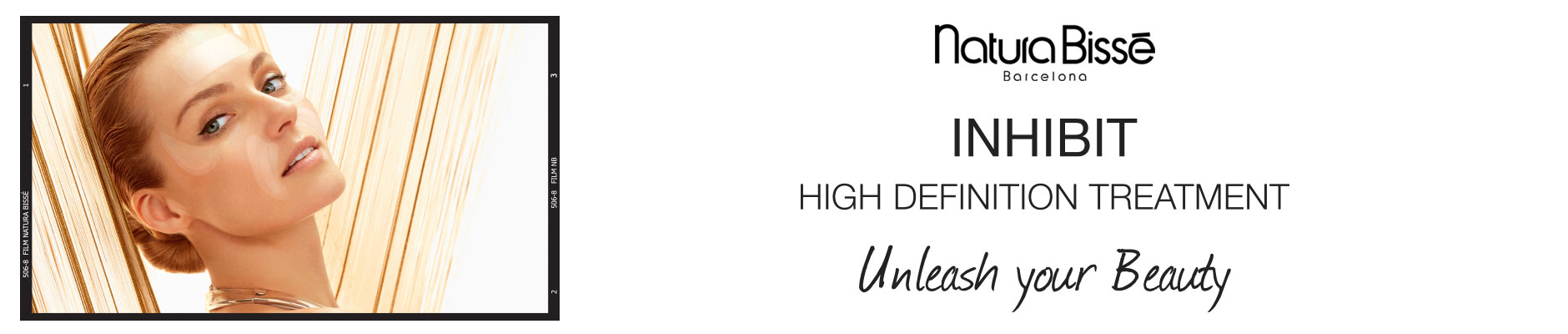 Natura Bisse Barcelona, inhibit - high definition treatment, unleash your beauty