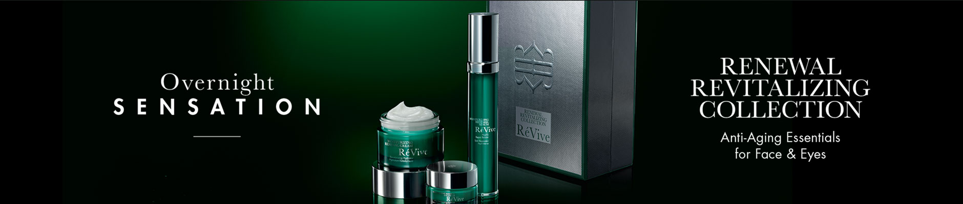 Overnight Sensation: Renewal Revitalizing Collection - Anti-Aging Essentials for Face & Eyes